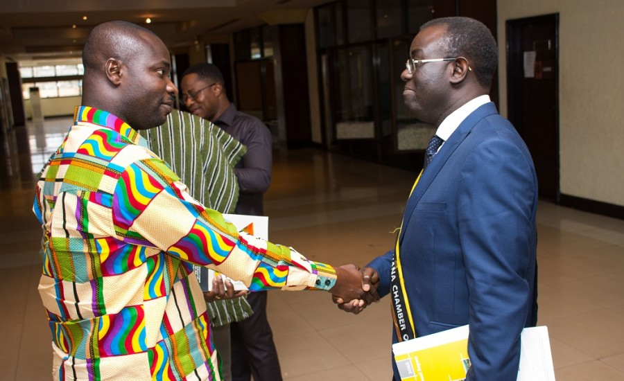 President with Mr. Sun Opei