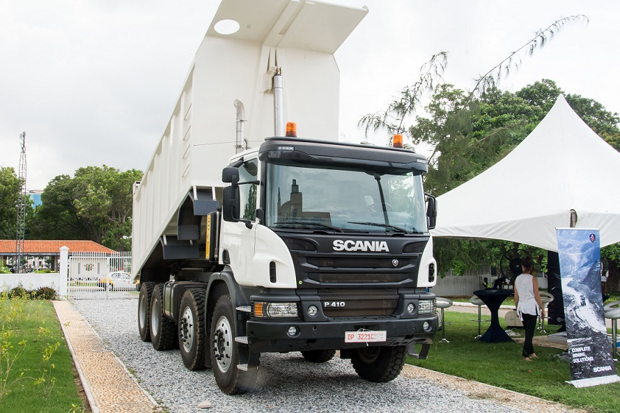 powerful Scania trucks